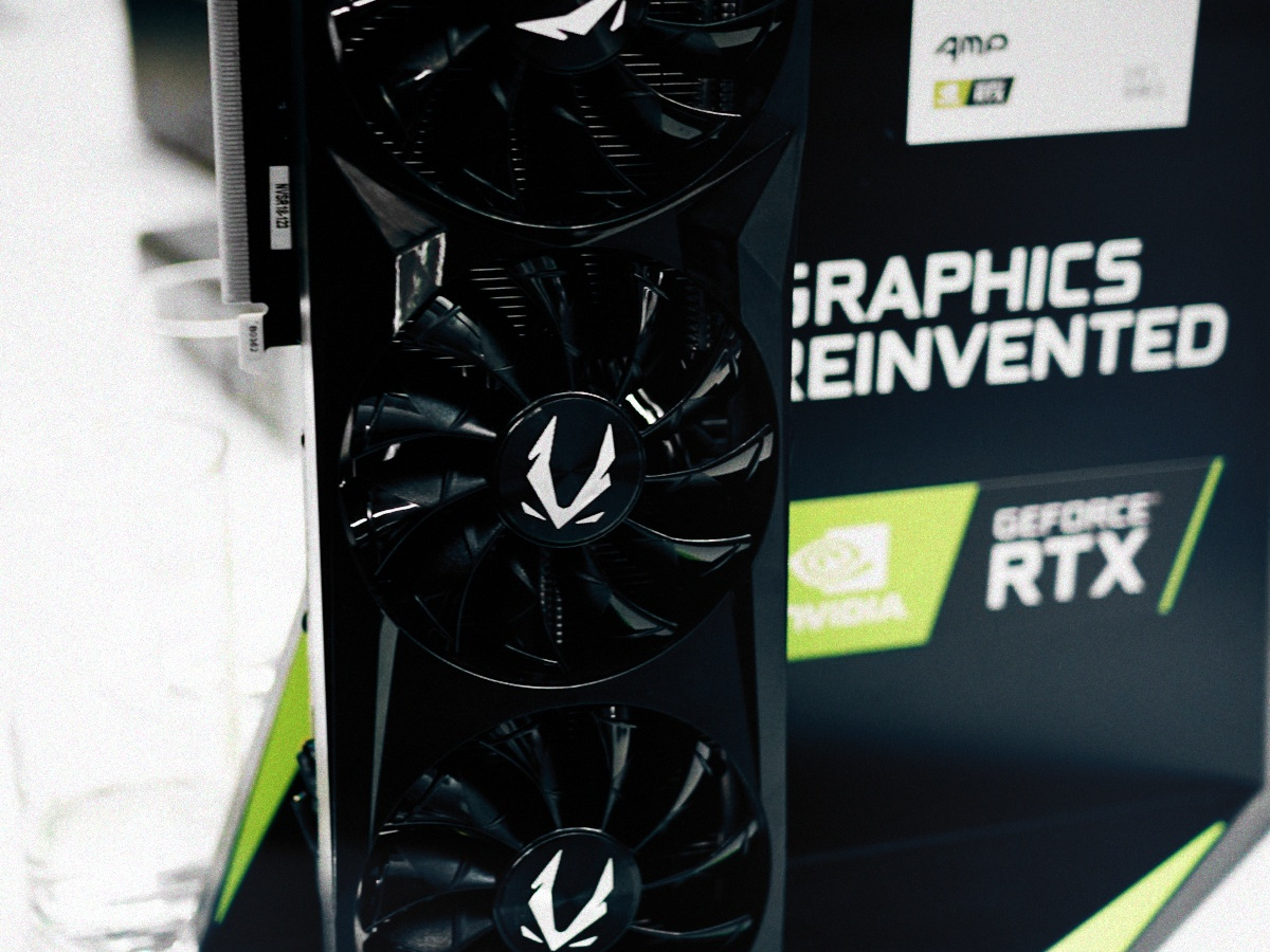 Nvidia GeForce RTX GPU